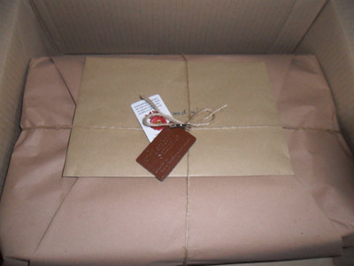 leather satchel company parcel