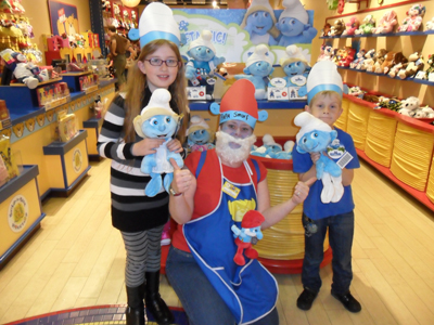 making build a bear workshop smurfs