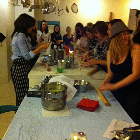 blogger event cooking