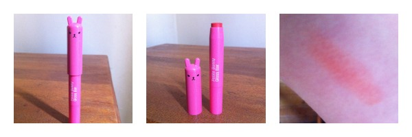 Korean beauty TonyMoly bunny gloss