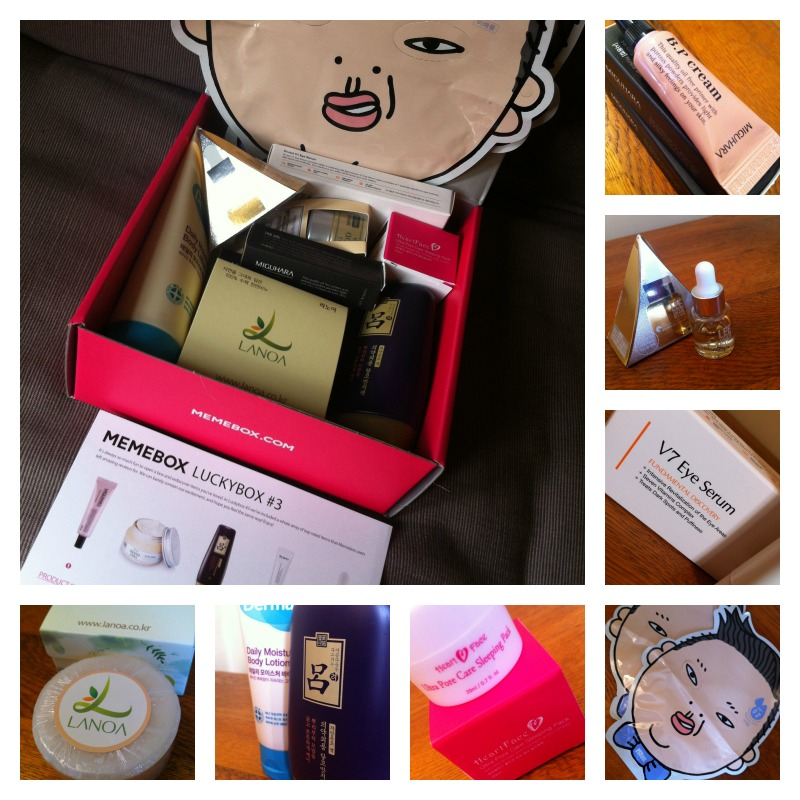 memebox luckybox 3