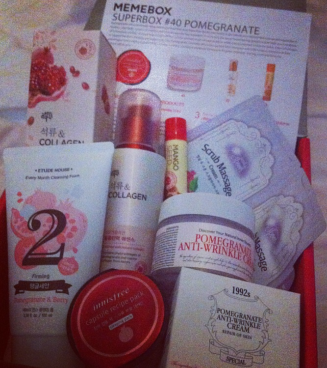 korean beauty boxes memebox pomegranate