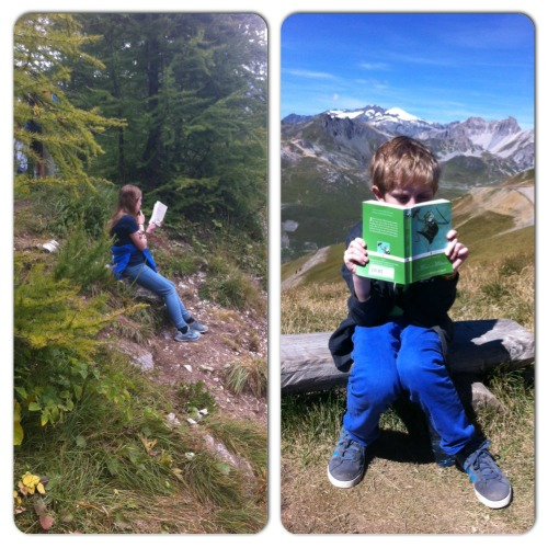 French Alps reading