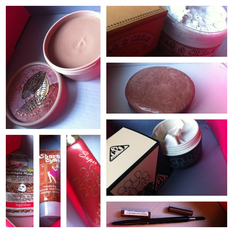 memebox chocolate mania contents