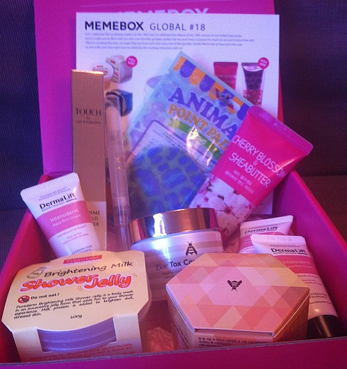 memebox global 18