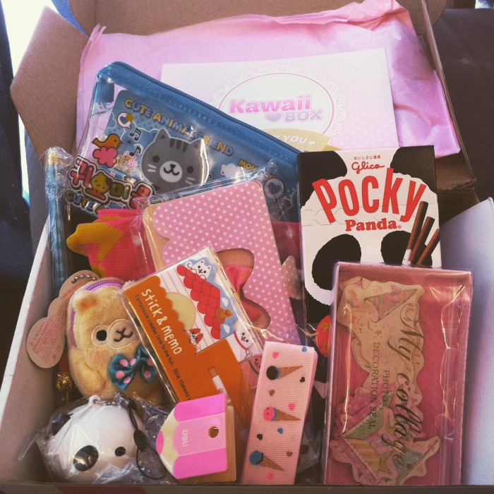 kawaii box contents