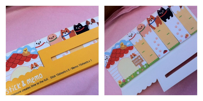 kawaii box stationery