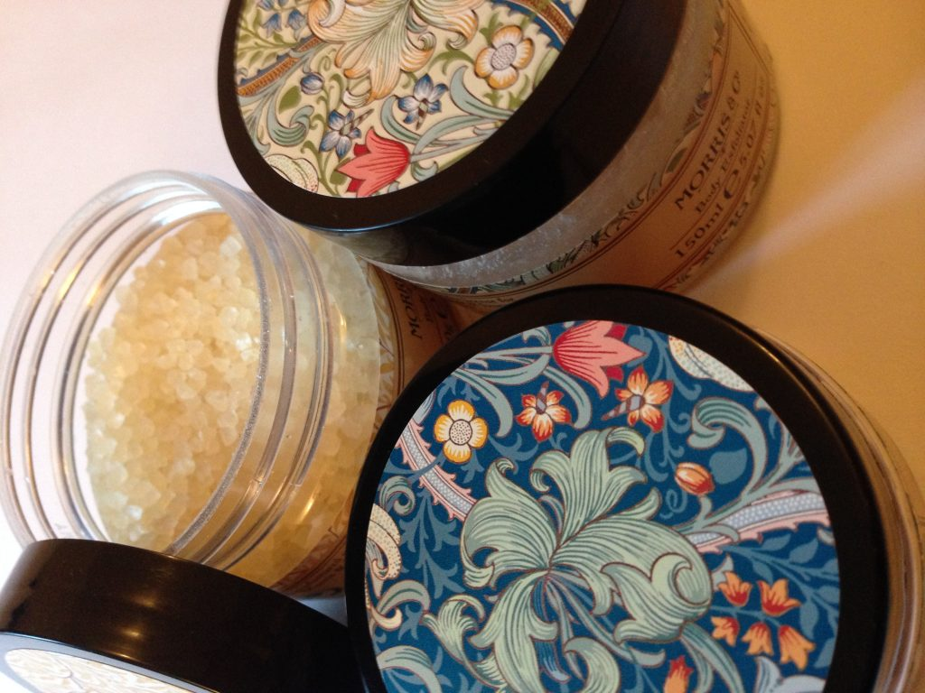 William Morris skincare bath salts