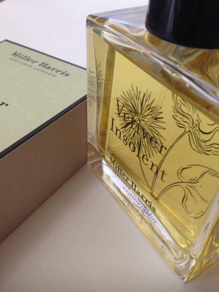 Miller Harris Vetiver Insolent perfume review