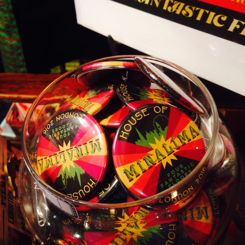 harry potter exhibition souvenirs