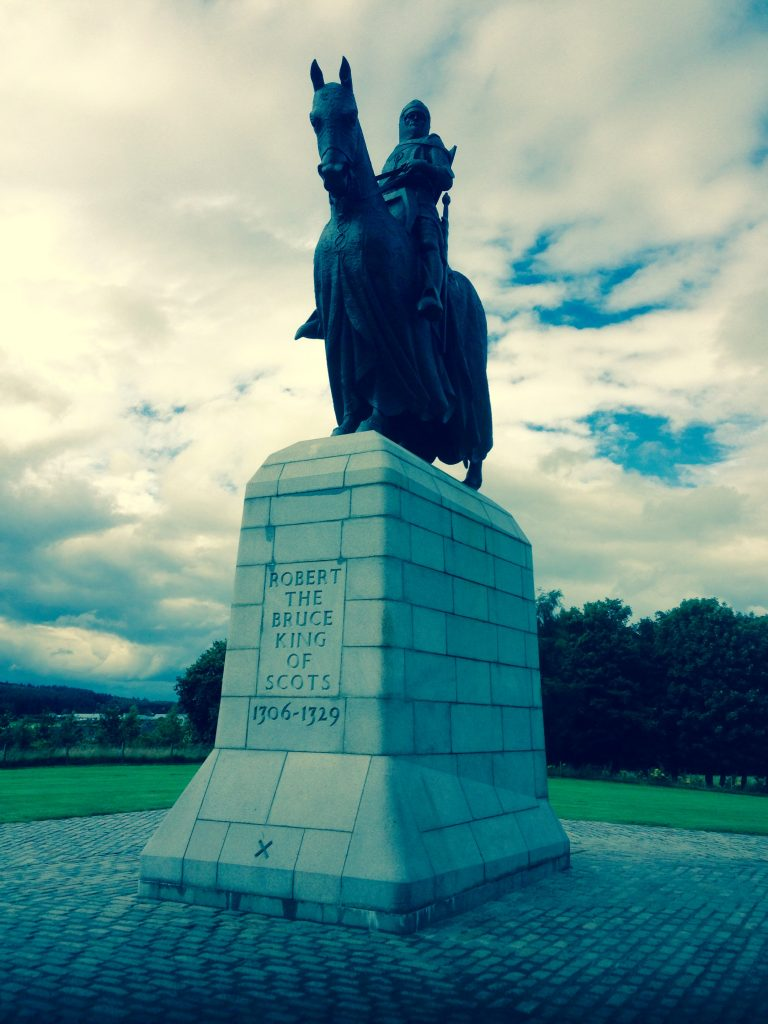 Robert the Bruce statue Battle of Bannockburn