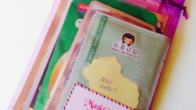 MaskGenie sheet mask pouch