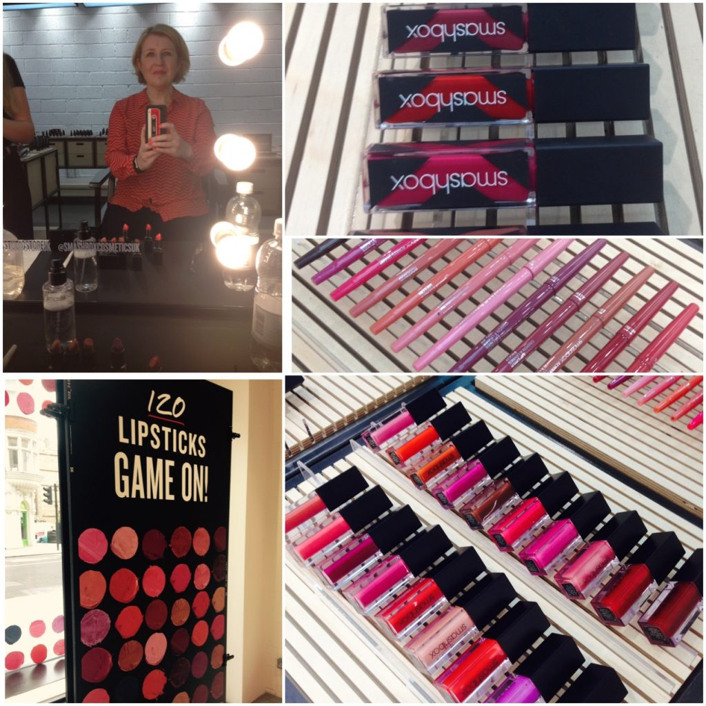 Smashbox London store and lipstick