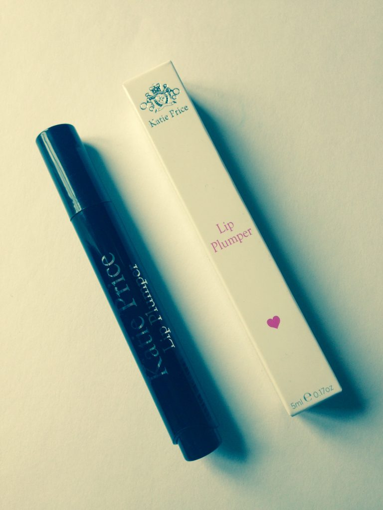 katie price beauty products review lip plumper