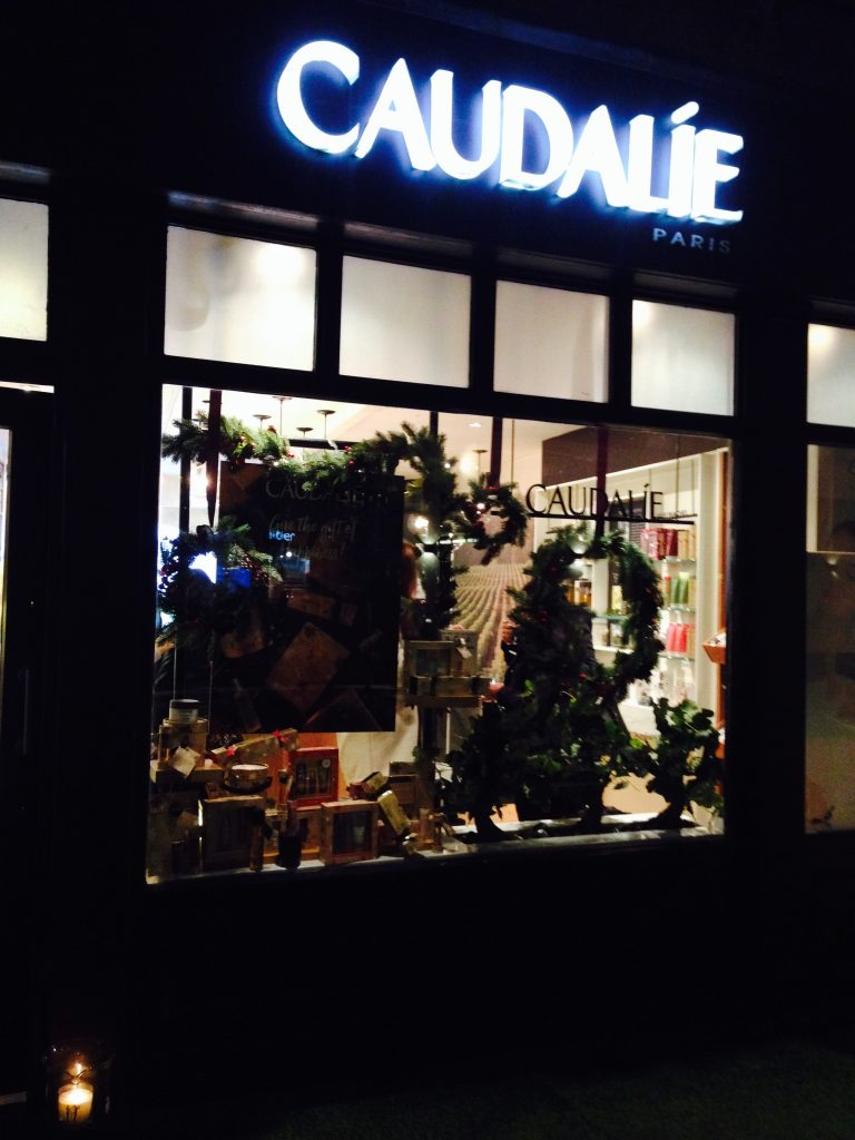 Caudalie shop Covent Garden London