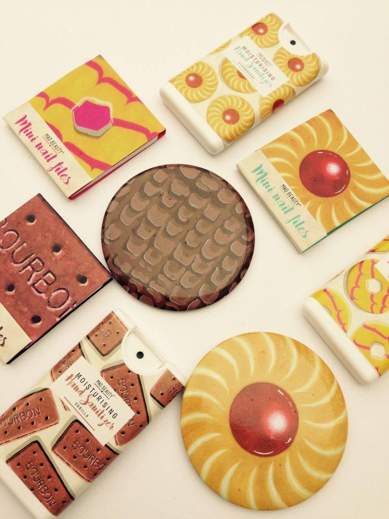 Mad Beauty biscuit range