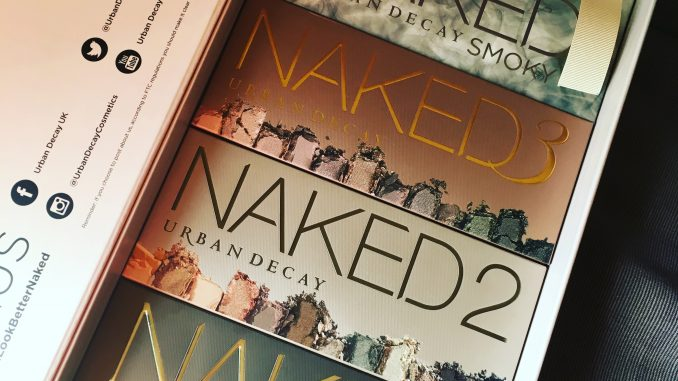 Urban Decay Naked palettes - all of them!
