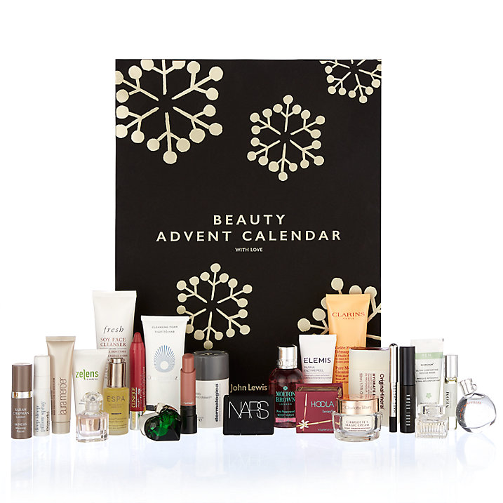 John Lewis beauty advent calendar 2017