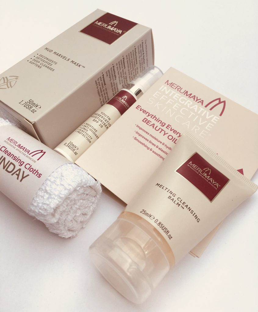 Merumaya skincare gift with purchase offer