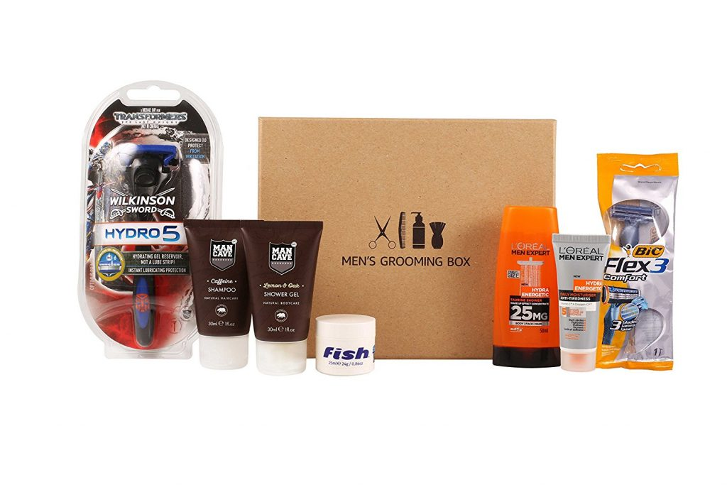 Amazon free beauty box for men