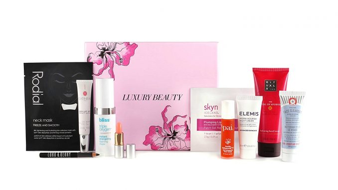Free Amazon beauty box