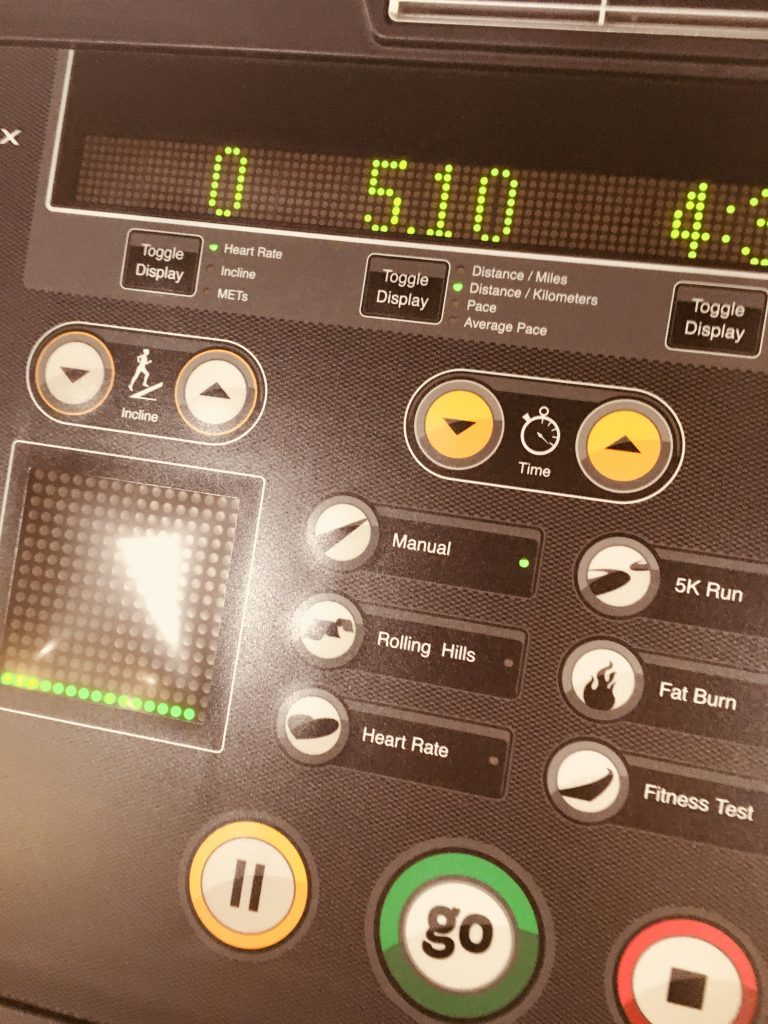 gym challenge treadmill 5K