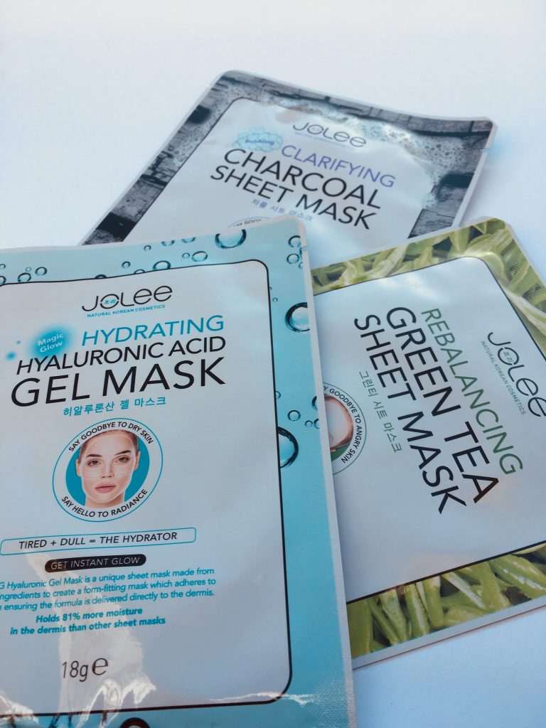Korean sheet mask set