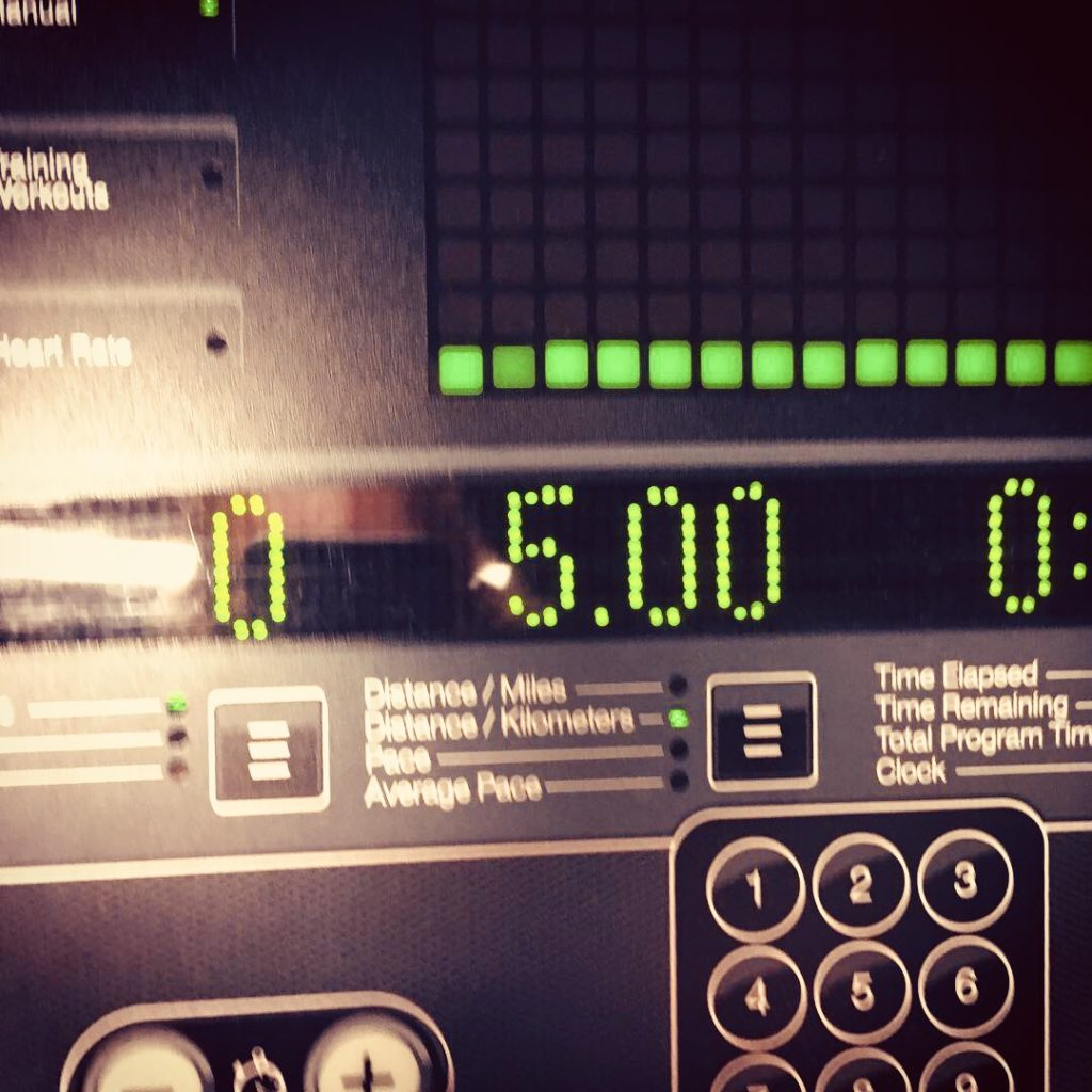 gym challenge 5k treadmill