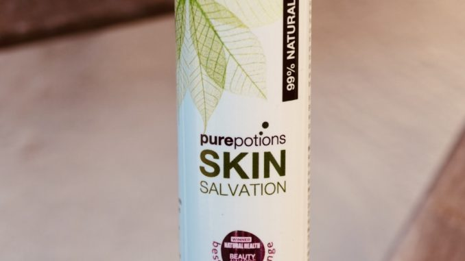 vegan hand cream Purepotions skin salvation