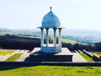 Chattri memorial in Sussex