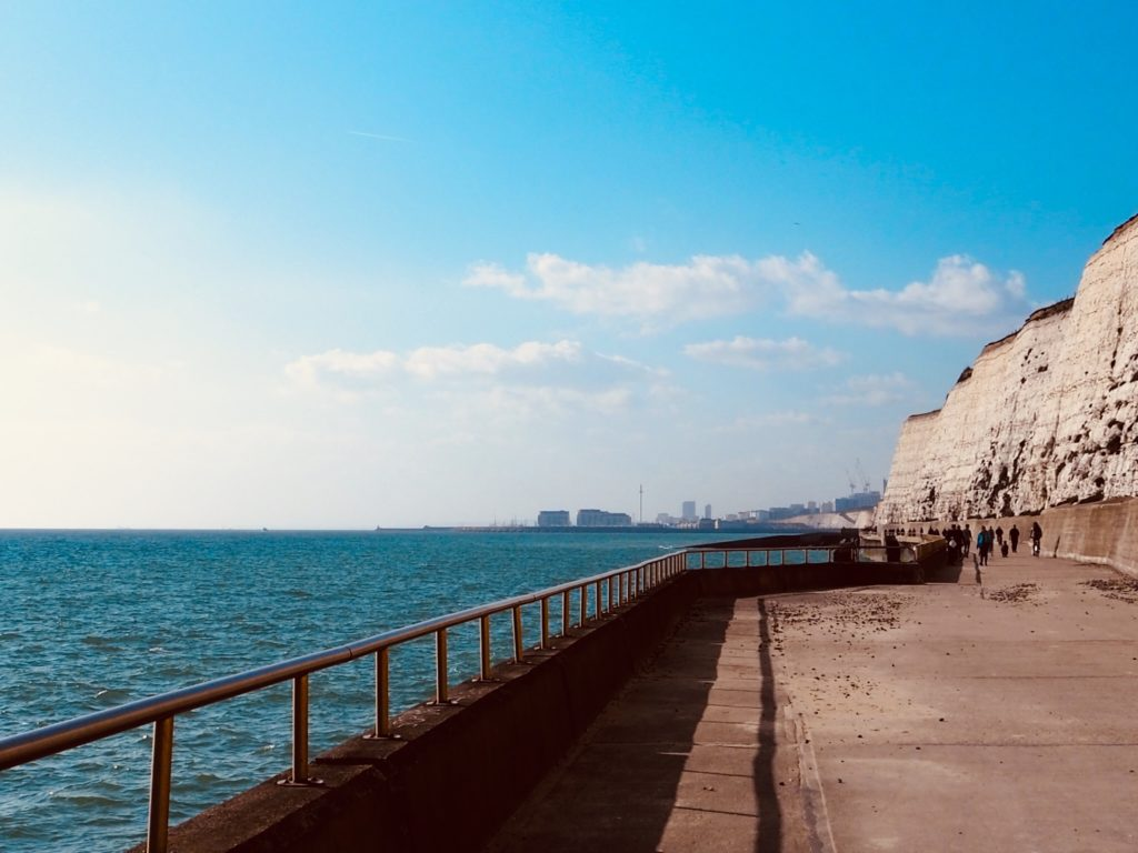 Undercliff Walk from Rottingdean