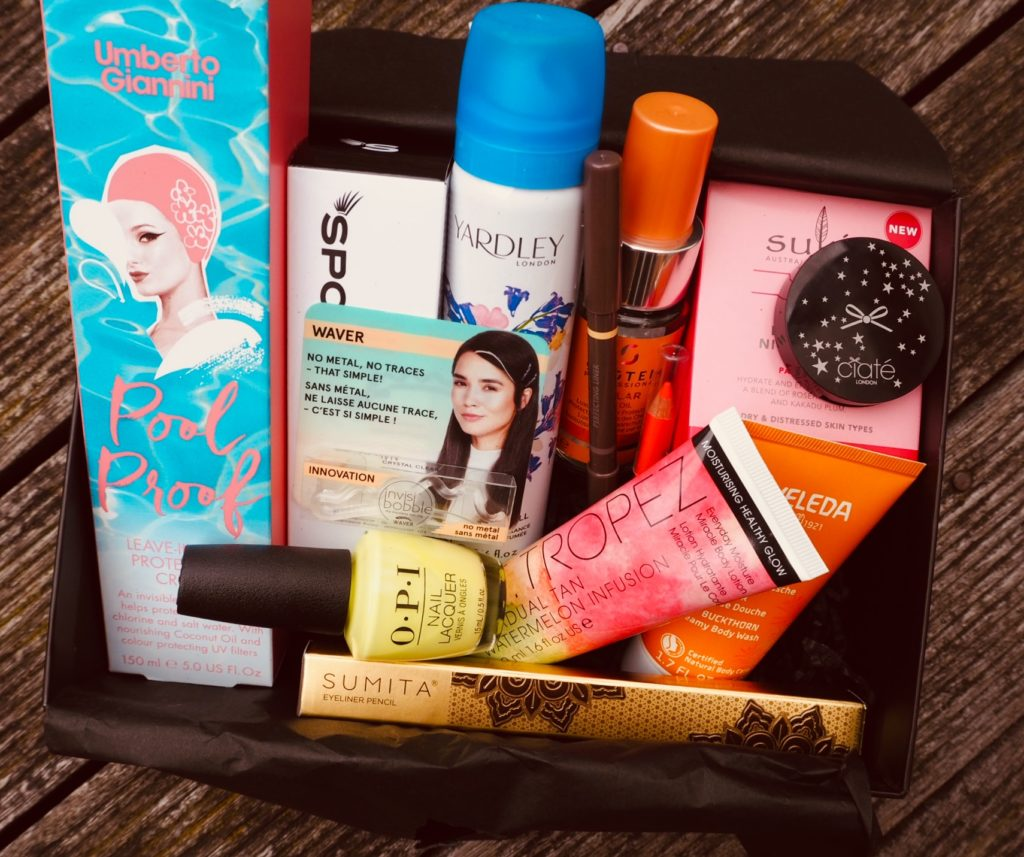 Latest in Beauty Summer 2019 beauty box contents