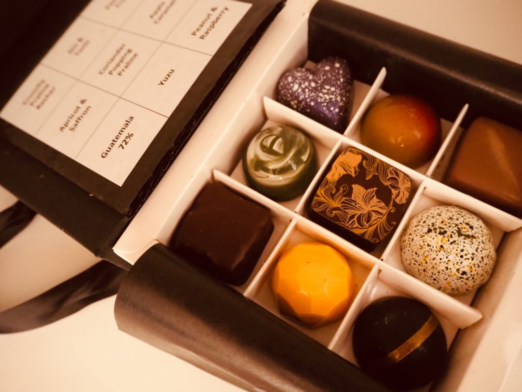 Artisan chocolates by Eponine from Yumbles