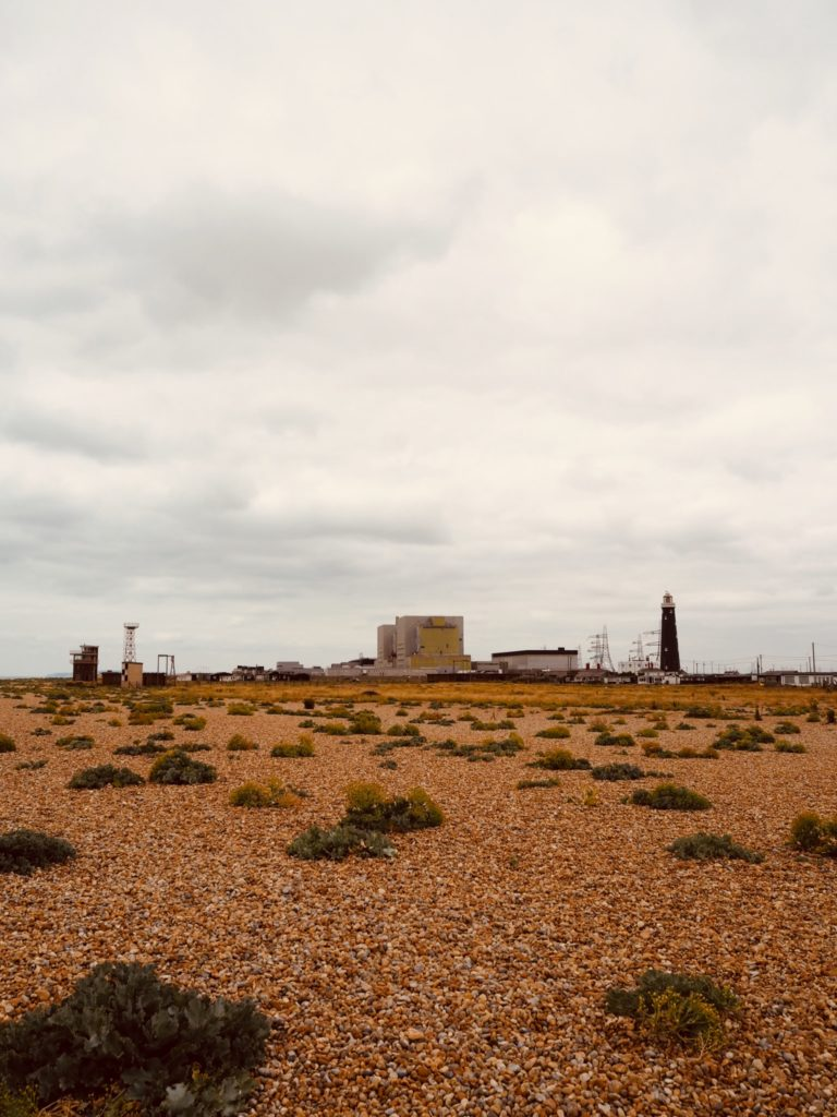 Dungeness power station near Derek Jarman cottage