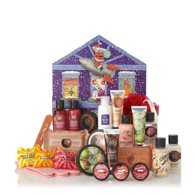 The Body Shop advent calendar 2019 small
