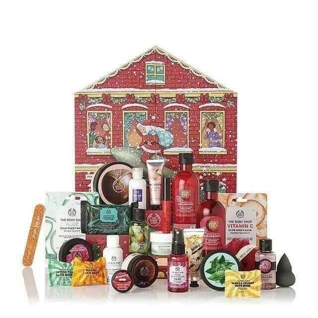 The Body Shop advent calendar 2019 medium