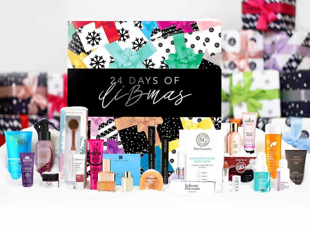 Latest in Beauty advent calendar contents 2019
