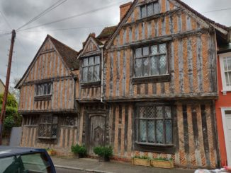 Harry Potter's birthplace Lavenham Suffolk