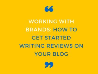 how to get started writing blog reviews