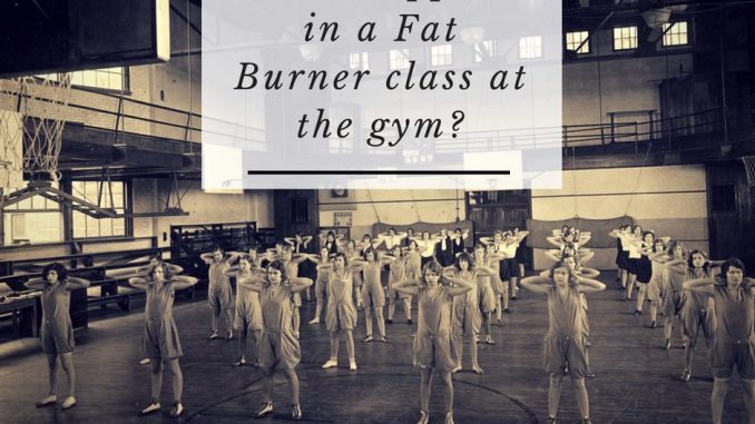 fat burner gym class what happens