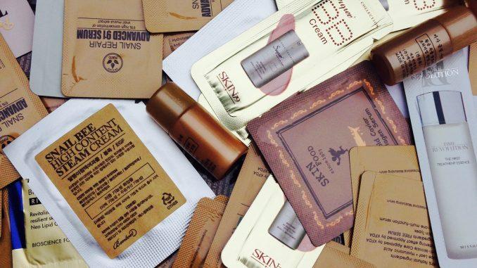 Korean beauty samples Eopenmarket lucky box