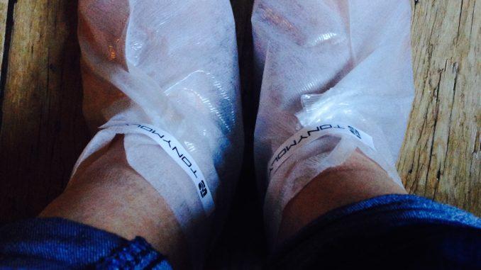 TonyMoly foot peel
