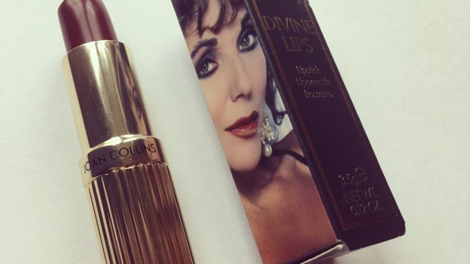Joan Collins Alexis lipstick review