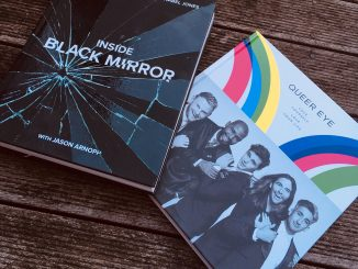 TV gift books Black Mirror & Queer Eye