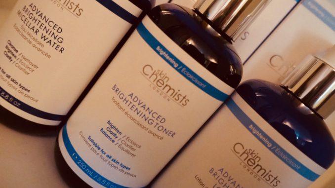 brightening skincare from skin chemists